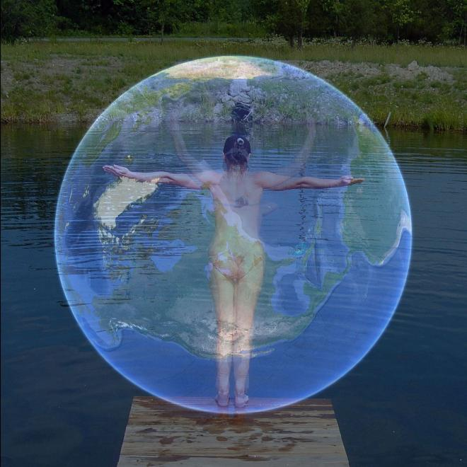 Daniela Bertol - Finding the Axis Mundi in the Water at Sun Farm - 2008